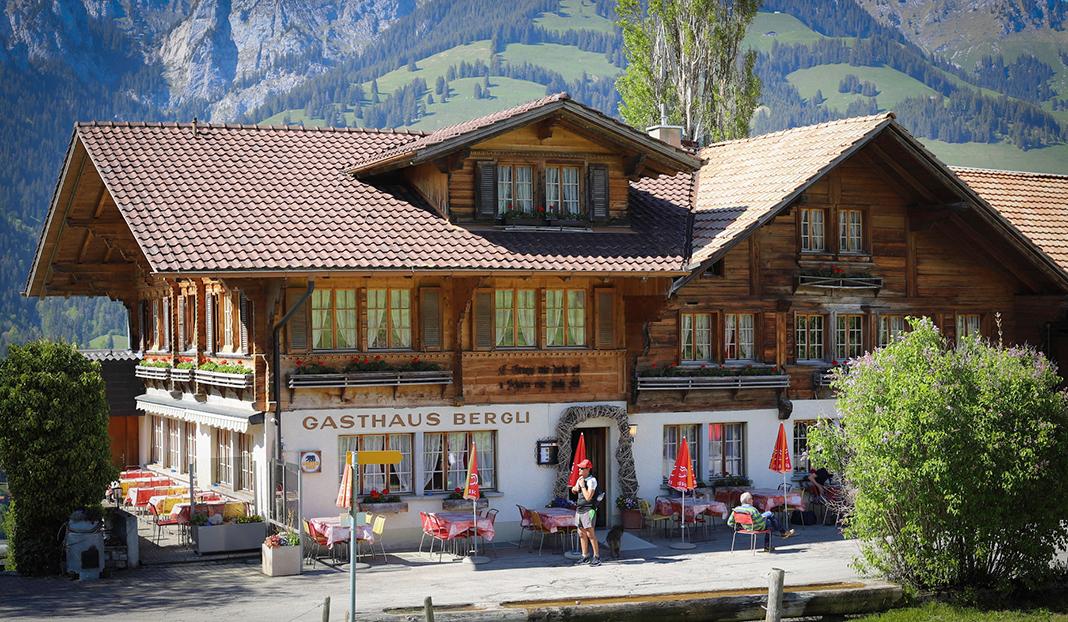 Stellplatz Gasthaus Bergli