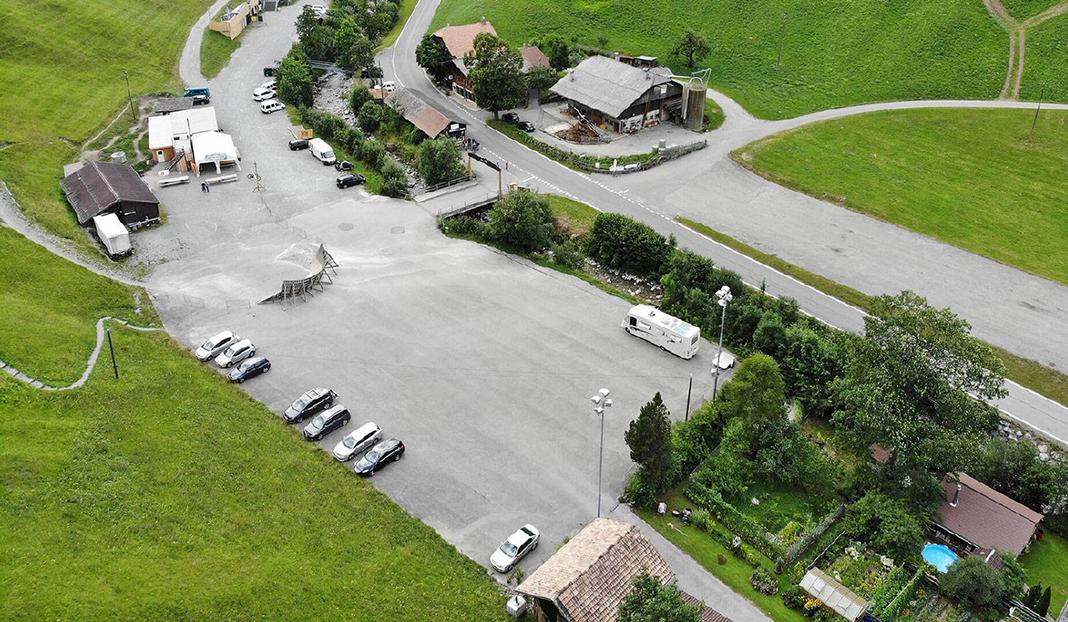 Stellplatz Parkplatz Wiriehorn