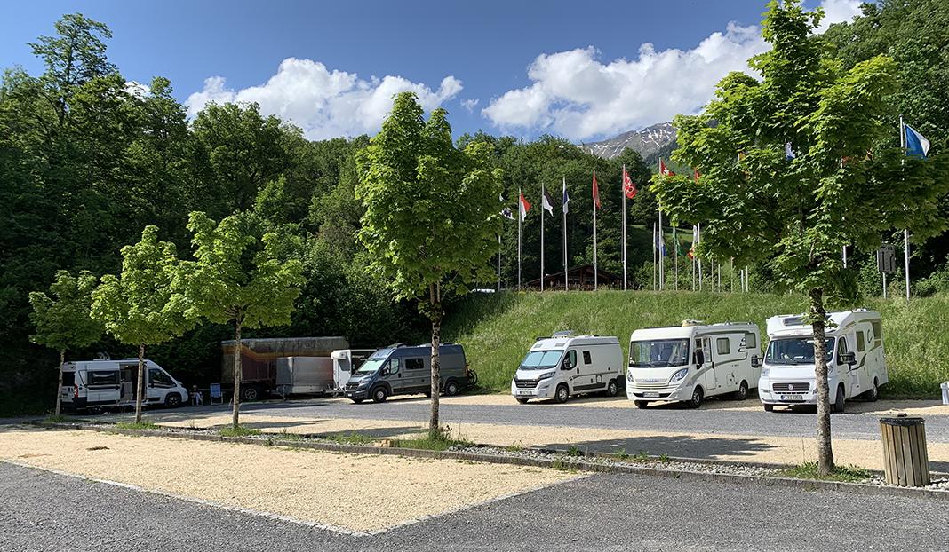 Stellplatz Freilichtmuseum Ballenberg