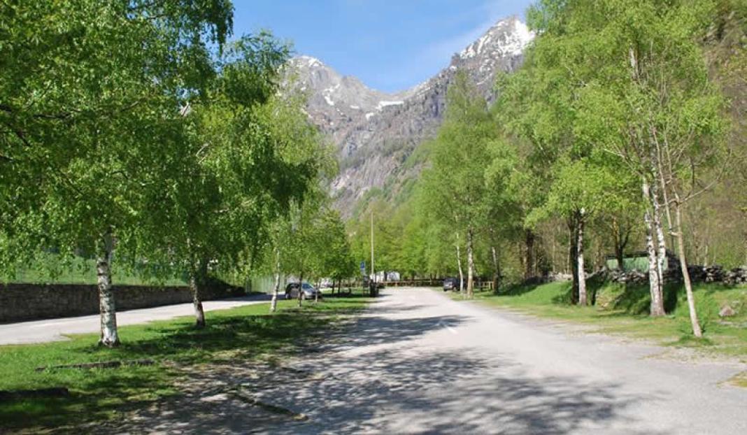 Camperstellplatz Sonogno – Valle Verzasca