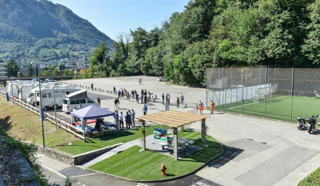 Stellplatz Lugano