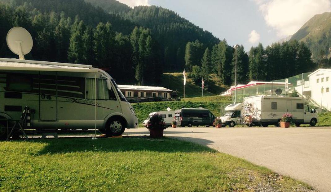 Wohnmobilstellplatz Samnaun-Ravaisch