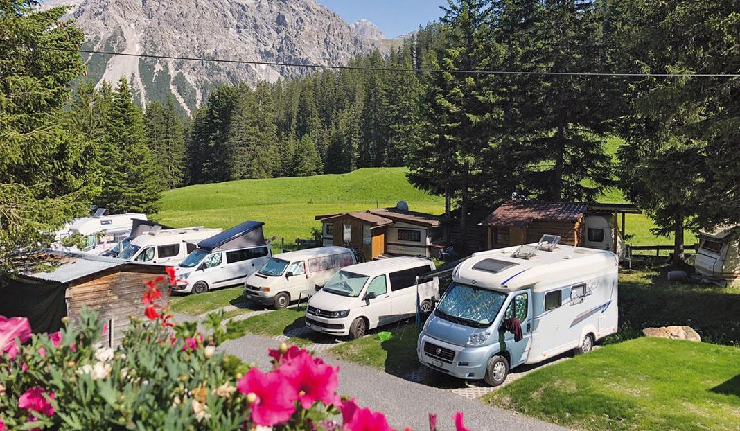 Camping Arosa
